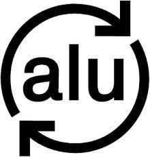 Aluminium recycling logo
