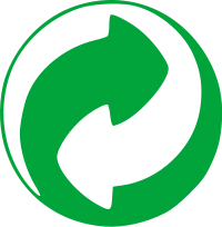 Green Dot recycling logo