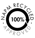 Paper recycling logo