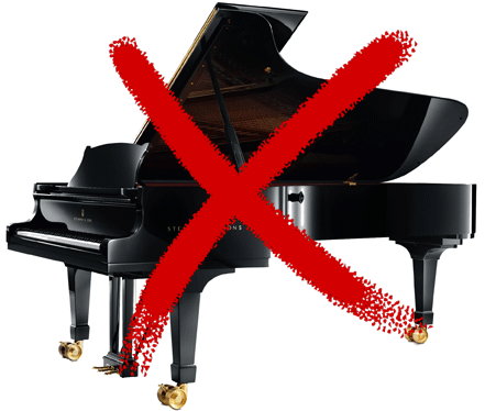 Not pianos