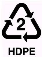 Recycling HDPE