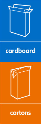 Recycle carboard & cartons