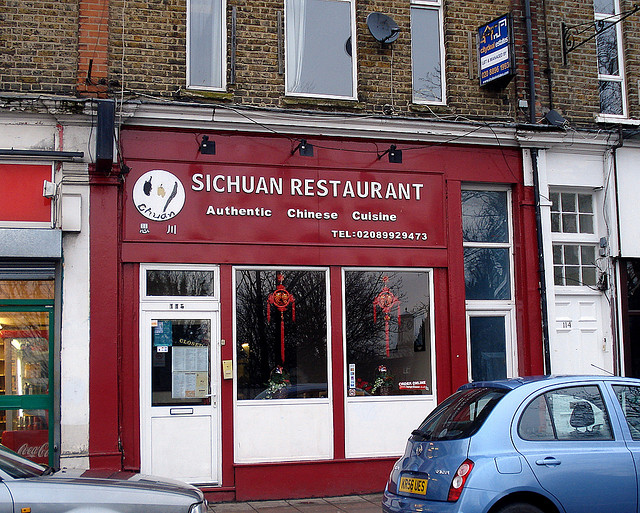 Sichuan style restaurant in London