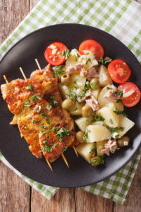 Spanish Meat skewers