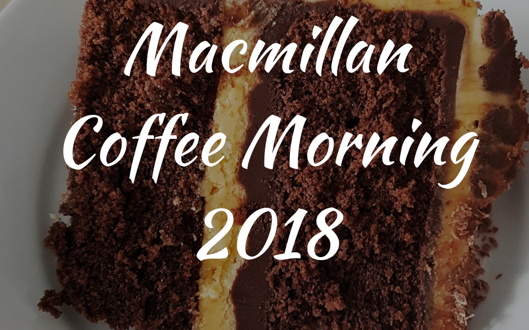 Dentons' Macmillan Coffee Morning 2018
